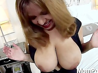 latino milf large pure tits behind the scenes