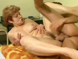 elderly acquires her cave fucked and rides his