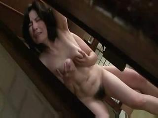 older japanese chick acquires lathered up and