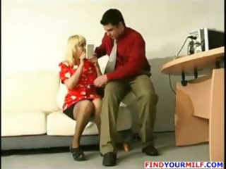 fresh boss seduce mature secretary