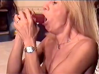 wench practices with other dildos