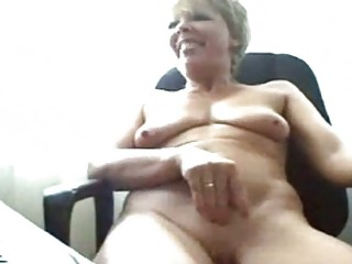 busty elderly on webcam
