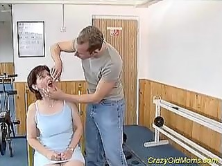 awesome momma worships gym drill