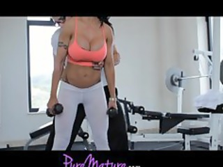 puremature flexible super babe jewels jade workout