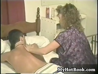 those is a vintage mixed porno where a blac