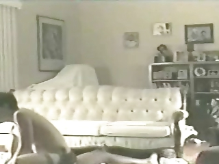 wife elaine on the living quarters floor