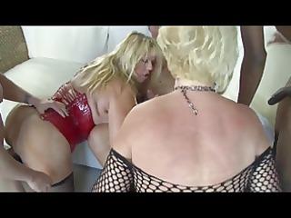 hot grown-up horny cougars gangbanged