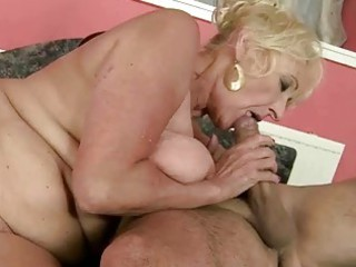 awesome old gang-banging with her trainer