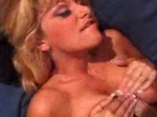 bigboobed blond woman banging