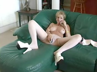 busty mother bonks plastic cock and stud