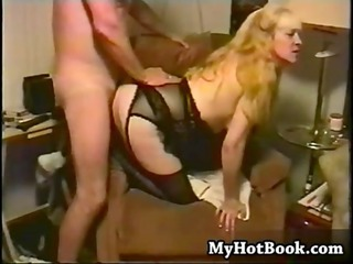 these is a vintage porno with a bbw who happens to