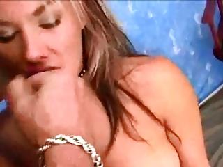 sweet milf blowjob and facial