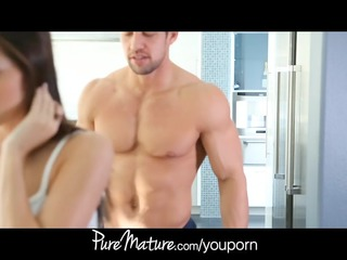 puremature inexperienced milf craves libido milk
