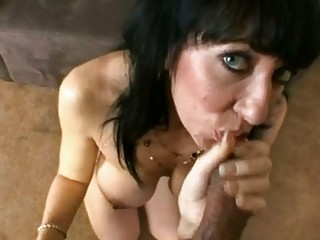 filthy milf alia janine hooks her oral up on a