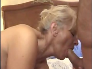 french cougar banged in the arse