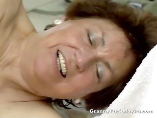 young man piercing heavy hirsute elderly