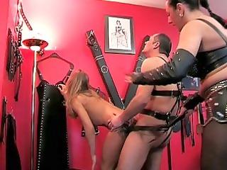 dirty mommas obtain pierced by an angry dick