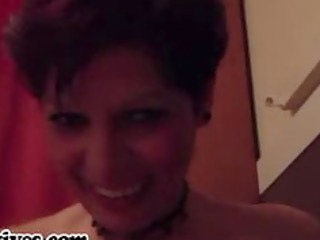 horny ex slut jerks hubbys libido until he cums