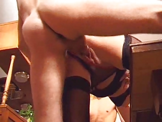 naughty mother twice penetrated by two allies on