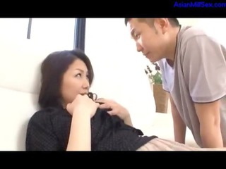 older lady caught on mastubating tasting young