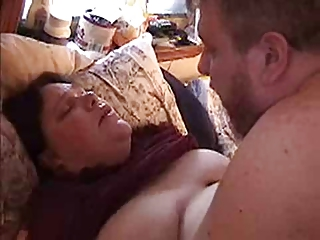 bbw housewife acquiring fucked &; titty cum