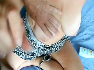 wifes large bossom jerking off material 22