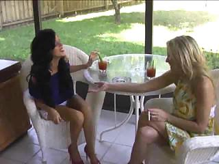 awesome mature babe cougars smoking sex threesome