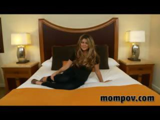 sweet grownup woman gets pierced in hotel for