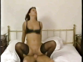 german stepson with woman