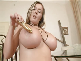busty woman solo