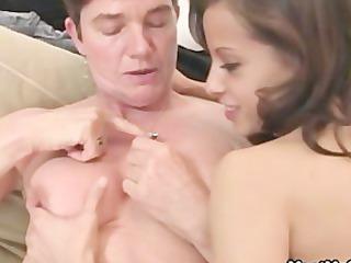 gf have oral fun with her bfs family