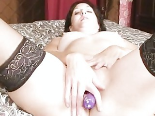 plastic penis craving older babe pounding cave