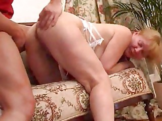 blond lady own her anal reamed uneasy