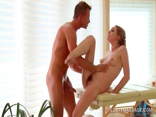 slutty albino acquires aperture gang-banged by