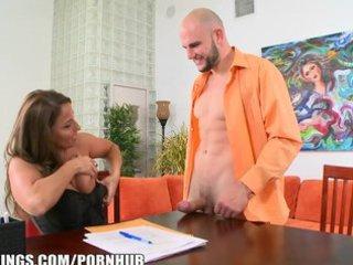 slutty woman employer needs proof of big cock