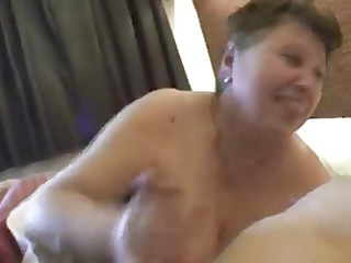 bbw elderly handjob(nice video)