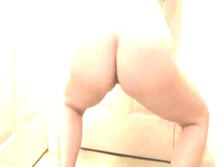 lateshay saggy titty wiggle appetizer on all fours