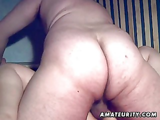 plump inexperienced maiden sucks and bangs with