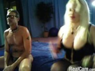 mature blond domme on cam
