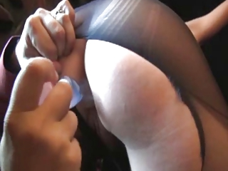 paula, french mature fucked inside ripped nylons