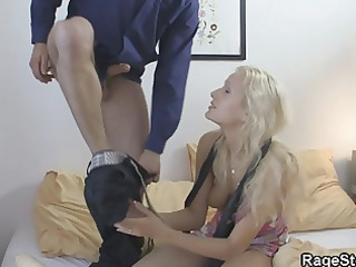 angry fucker punishes his horny woman roughly