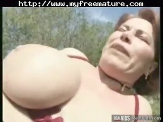 chubby mommy riding dick into the sun older
