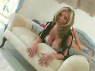naughty blond lady blows fresher man and gets