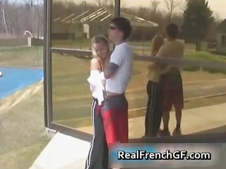 young french babe rammed hard part1