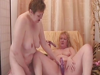 beautiful elderly dikes obtain off with erotic