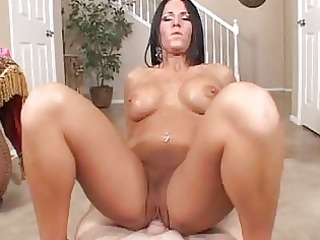 awesome arse tattooed babe sucks and rides uneasy