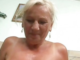 busty naughty old into uneasy point of view scene