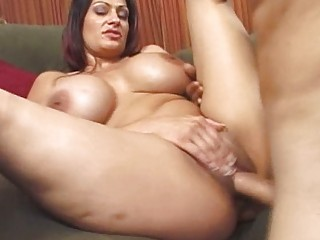 large boobs woman has a wet vagina