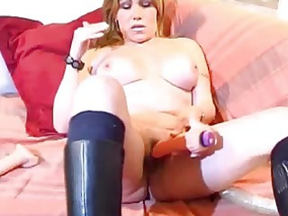 slutty ancient amateur lady playing ass and vagina