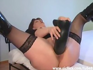 extreme giant penis banging double fisted